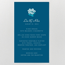 Secret Garden - Menu Card