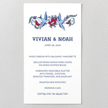 Vintage Tattoo---Menu Card