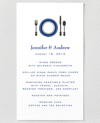 Visit Boston Menu Card