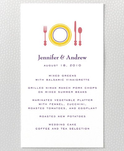 Visit Miami Menu card