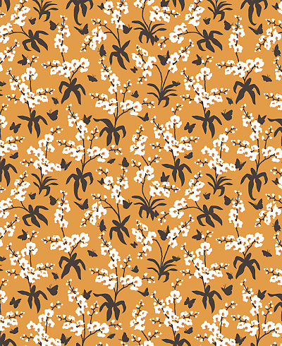 Shangri-la Patterned Paper