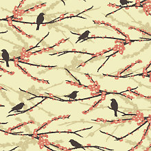Sparrows: Patterned Paper