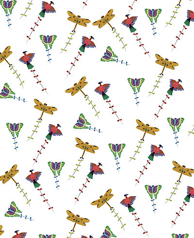 Summer Palace Patterned Paper