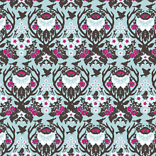 Woodland Damask - Patterned Paper