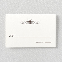 Belle Epoque - Letterpress Place Card