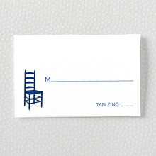 Boston Skyline---Place Card