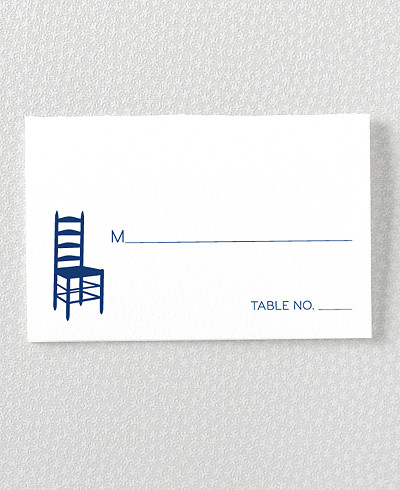 Boston Skyline Place Card