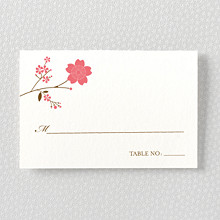 Cherry Blossom: Place Card