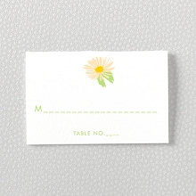 Daisy: Letterpress Place Card