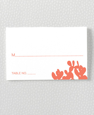 Desert Skyline Place Card