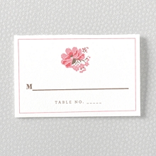 English Rose: Place Card