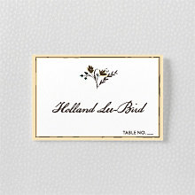 Bluegrass - Place Card