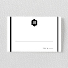 Havana: Letterpress Place Card