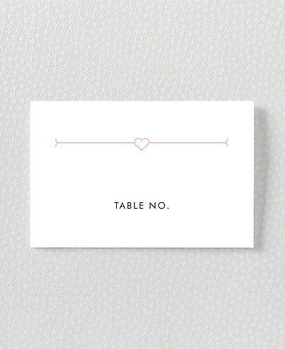 Love and Marriage Place Card