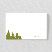 Mountain Skyline: Place Card