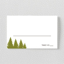 Mountain Skyline - Place Card
