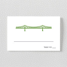 New Orleans Skyline: Place Card