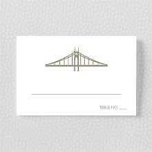 Portland Skyline: Place Card