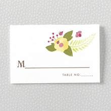 Flora and Fauna---Place Card