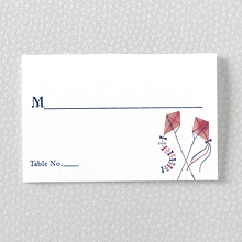 French Bicycle - Place Card