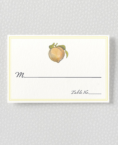 Heirloom Harvest Place Card