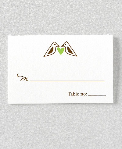 Home Sweet Home Place Card