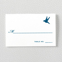 L'Oiseau - Letterpress Place Card