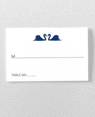 London Skyline Place Card
