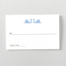 London Skyline---Letterpress Place Card