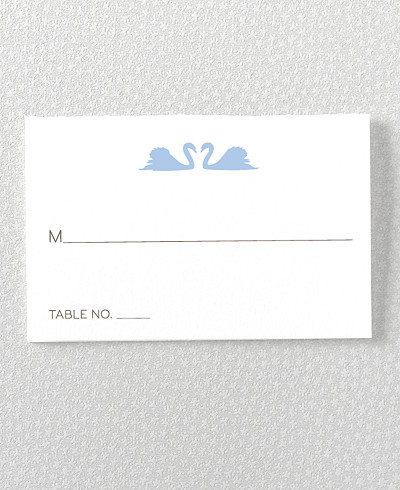 London Skyline Letterpress Place Card