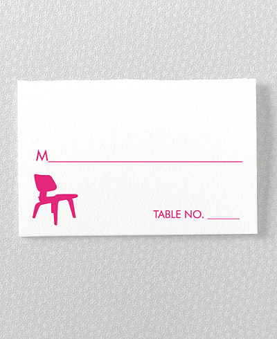 Los Angeles Skyline Place Card