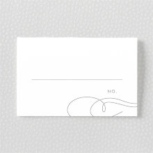 Atlantic: Foil/Letterpress Place Card