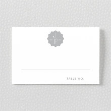Pop Deco---Foil/Letterpress Place Card