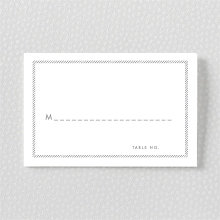 Shooting Star---Foil/Letterpress Place Card