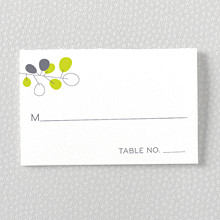 Lunaria - Letterpress Place Card