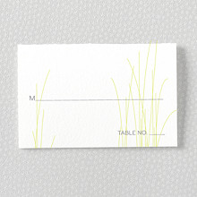 Meadow - Letterpress Place Card