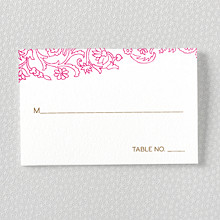 Medjool: Letterpress Place Card