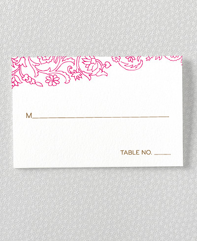 Medjool Place Card