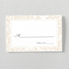 Midsummer: Letterpress Place Card