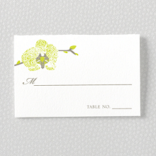 Orchid - Place Card