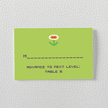 Pixel Perfect---Place Card