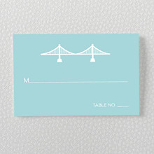 San Francisco Skyline---Place Card