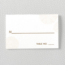 Seashore: Place Card