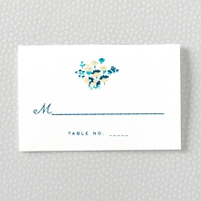 Secret Garden---Letterpress Place Card