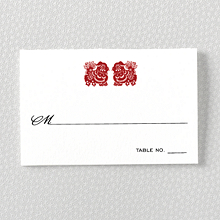Summer Palace---Place Card