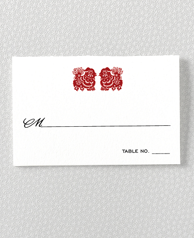 Summer Palace Place Card