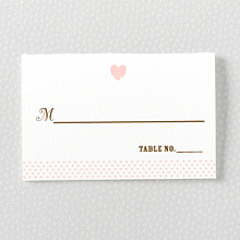 Sweetheart: Place Card