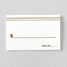 Tahoe: Place Card