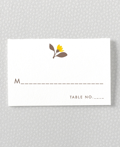Tropic Place Card