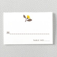 Tropic: Letterpress Place Card